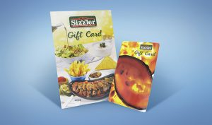 SIZZLER GIFT CARD 500 THB